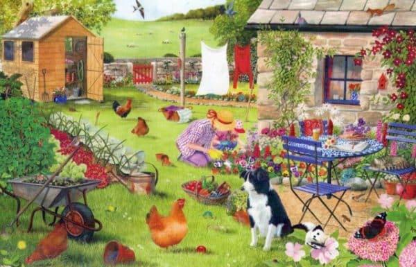 Grandmas Garden The House Of Puzzles Legpuzzel 5060002002759 1.jpg