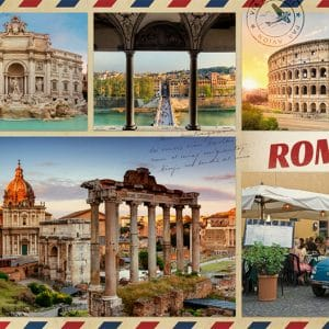 Greetings From Rome 1000 Pcs Jumbo18862 01 Legpuzzels.nl