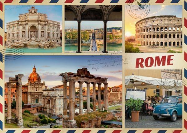 Greetings From Rome 1000 Pcs Jumbo18862 01 Legpuzzels.nl