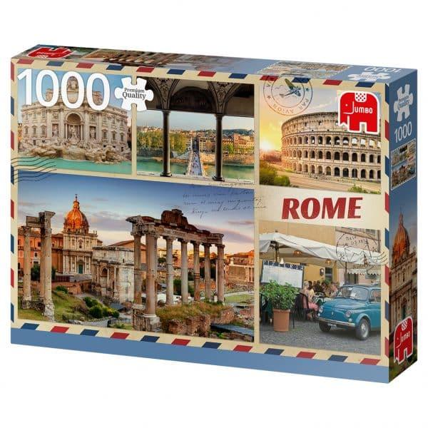 Greetings From Rome 1000 Pcs Jumbo18862 02 Legpuzzels.nl