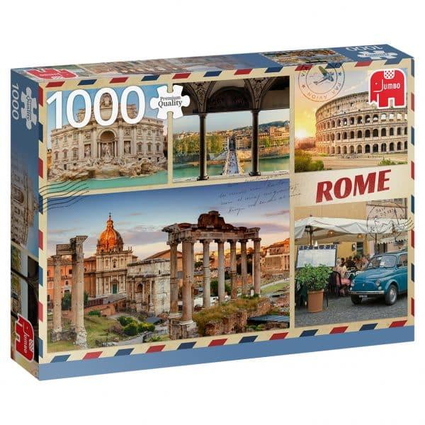 Greetings From Rome 1000 Pcs Jumbo18862 03 Legpuzzels.nl