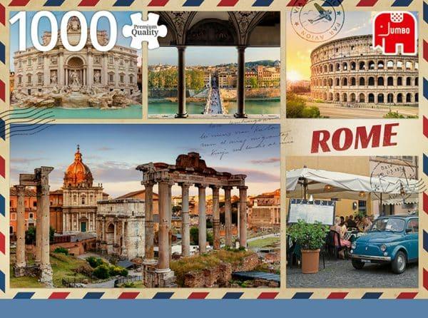 Greetings From Rome 1000 Pcs Jumbo18862 04 Legpuzzels.nl