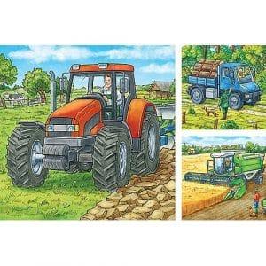 Grote Landbouwmachines Ravensburger Kinderpuzzels