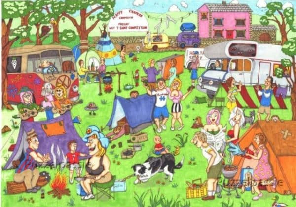 Happy Campers The House Of Puzzles Legpuzzel 5060002003831 1.jpg