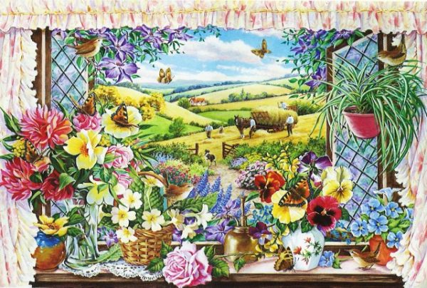 Harvest View The House Of Puzzles Legpuzzel 5060002002193 1.jpg