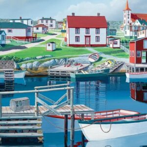 Haven In Greenspond Legpuzzels