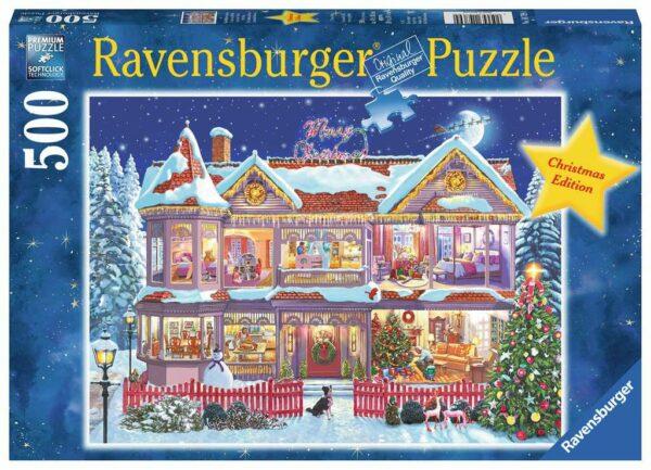 Het Kerst huis Sneeuw Ravensburger