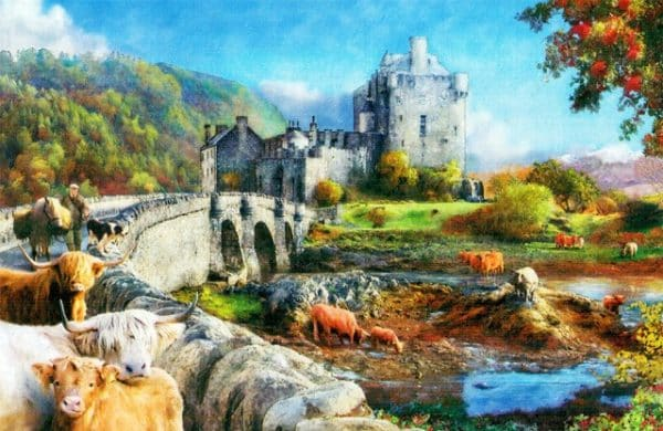 Highland Morning The House Of Puzzles Legpuzzel 5060002003626 1.jpg