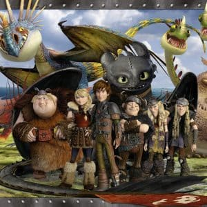 Hoe Tem Je Een Draak Toothless Vrienden Ravensburger105496 01 Kinderpuzzels.nl .jpg