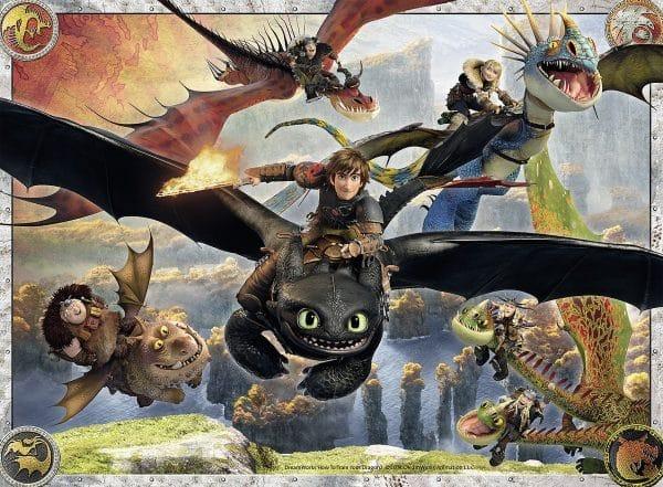 Hoe Tem Je Een Draak Dragons 2 Ravensburger100156 01 Kinderpuzzels.nl .jpg