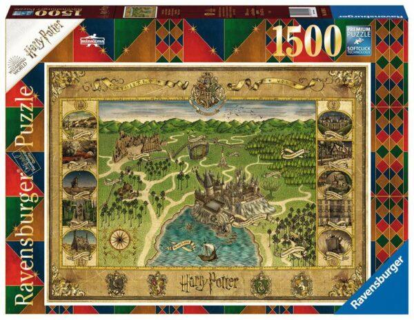 hogwarts map 16599 ravensburger 2