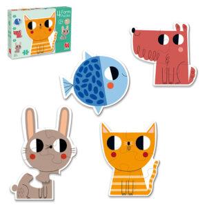 huisdieren vorm puzzel jumbo 53174 int 2
