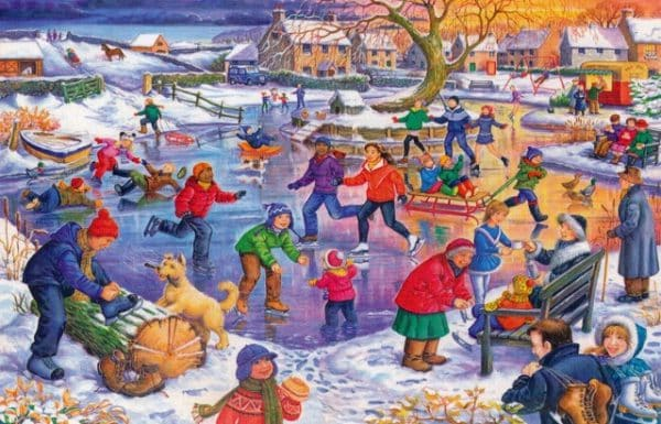 Ice Skating The House Of Puzzles Legpuzzel 5060002003091 1.jpg