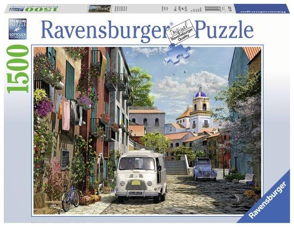 Idylisch Zuid Frankrijk Ravensburger163267 02 Legpuzzels.nl