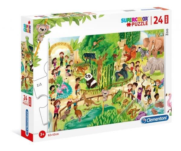 Dierentuin Clementoni Kinderpuzzel Panda Aap