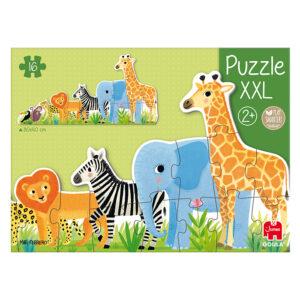 in de jungle vorm puzzel xxl jumbo 53426 int 6