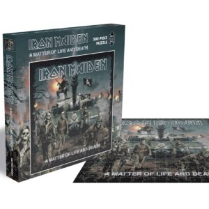 iron maiden a matter of life and deathe rocksaws522596 01 legpuzzels