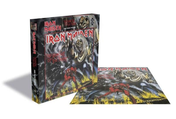 Iron Maiden Number Of The Beast Rocksaws28762 01 Legpuzzels.nl