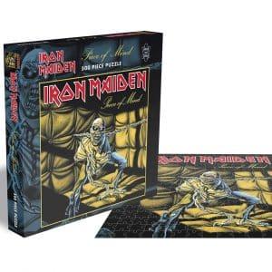 Iron Maiden Piece Of Mind Rocksaws39652 01 Legpuzzels.nl