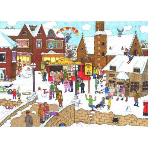 Its Cold Outside The House Of Puzzles Legpuzzel 5060002003862 1.jpg