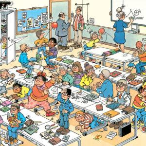 jan van haasteren junior het klaslokaal jumbo 20062 int 2