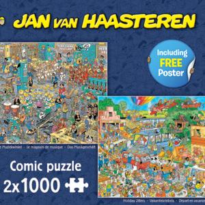 jan van haasteren the music shop & holiday jitters 2 in 1 jumbo20049 f 14