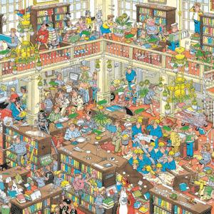 Jan Van Haasteren Bibliotheek Puzzel