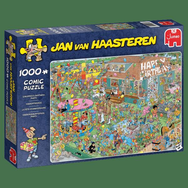 Jan Van Haasteren Kinderfeestje Puzzel
