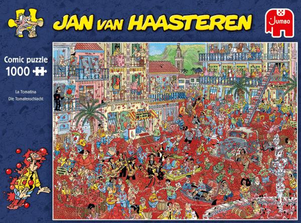 Jan Van Haasteren La Tomatina Legpuzzels (2)