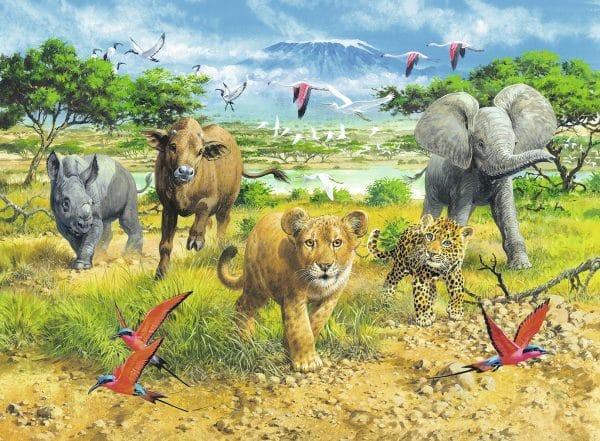 Jonge Dieren In Afrika Ravensburger132195 01 Kinderpuzzels.nl .jpg