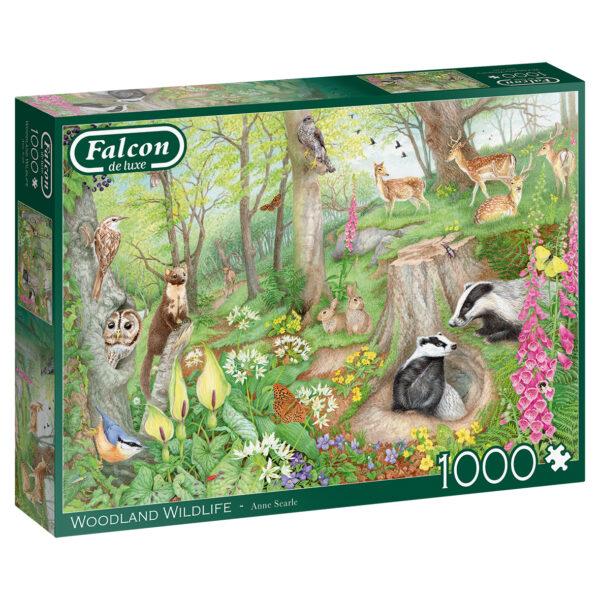 jumbo11322 falcon woodland wildlife legpuzzels.nl 1