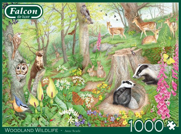 jumbo11322 falcon woodland wildlife legpuzzels.nl 4