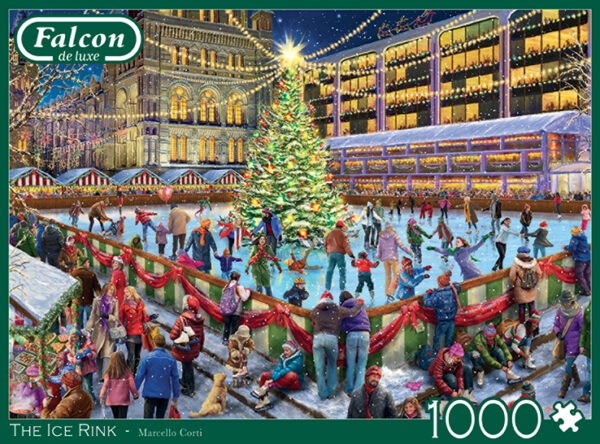 jumbo11342 falcon the ice rink legpuzzels.n 3