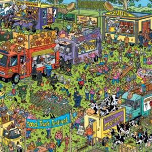 jumbo20042 van haasteren foodtruckfestival legpuzzels.nl 5