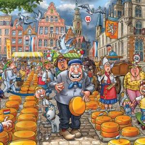jumbo25010 wasgij original 38 kaasalarm legpuzzels.nl