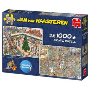 Jan van Haasteren Holiday Shopping