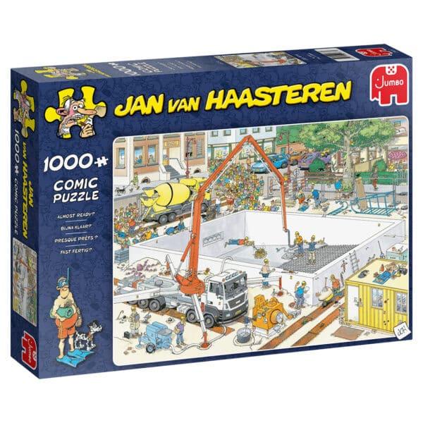 Jan van Haasteren Bouwplaats