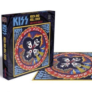Kiss Rock And Roll Over Rocksaws56451 01 Legpuzzels.nl