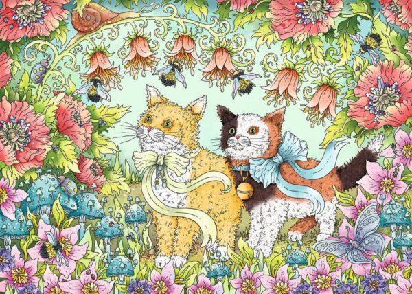 Kattenvriendschap Legpuzzel