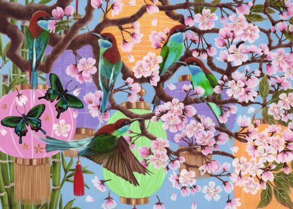 kersenboom in bloei 16764 ravensburger 1