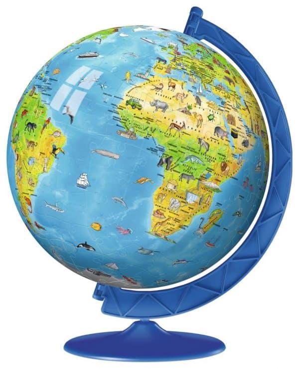 Kinder Wereldbol Puzzelball Ravensburger Kinderpuzzel