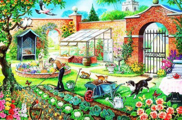 Kitchen Garden The House Of Puzzles Legpuzzel 5060002001516 1.jpg