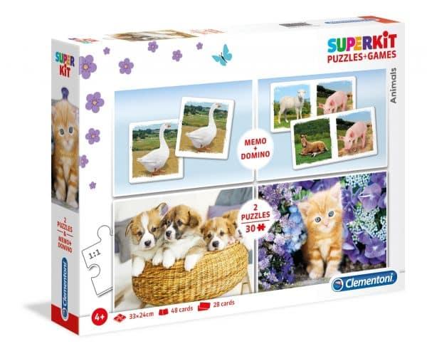 Puppy Kitten Dieren Clementoni Kinderpuzzel
