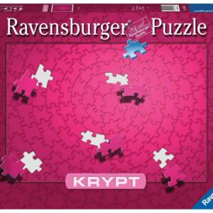 Krypt Puzzel Pink Roze Ravensburger
