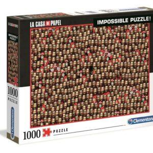 La Casa De Papel Impossible Puzzel Clementoni39527 02 Legpuzzels