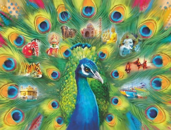 Land Of The Peacock Legpuzzel