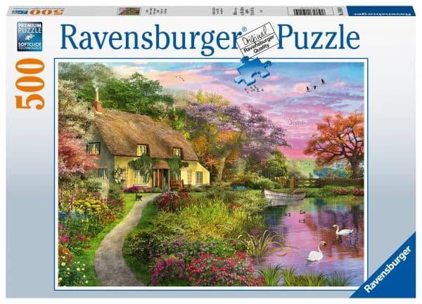Landhuis Ravensburger150410 02 Legpuzzels.nl