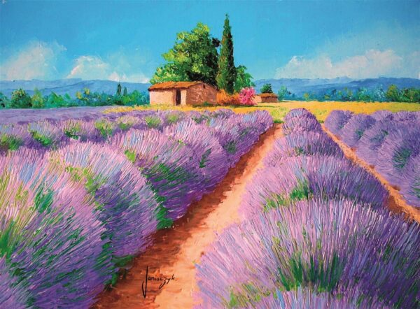 Lavendel Geur Clementoni35073 01 Legpuzzels
