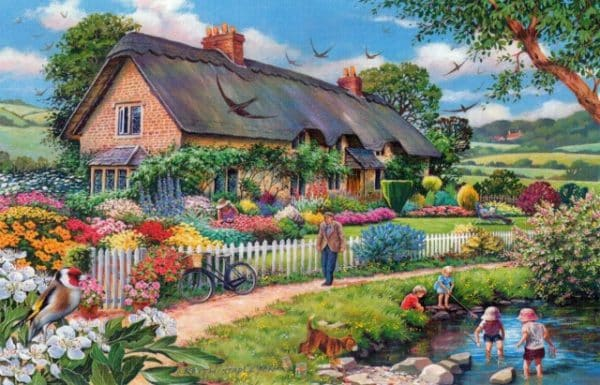Lazy Days The House Of Puzzles Legpuzzel 5060002003343 1.jpg