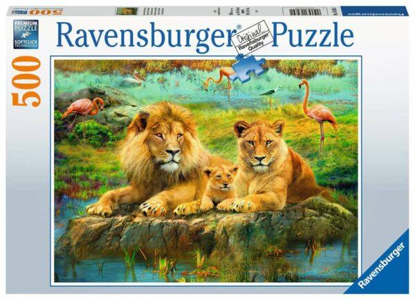 Leeuwen In De Savanne Legpuzzels